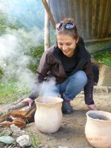 Archeologička a jej úsmev